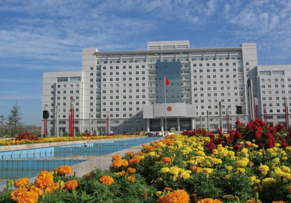枣庄市政府大楼